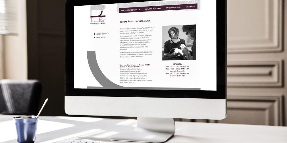 Nos références - Web Thomas Paret